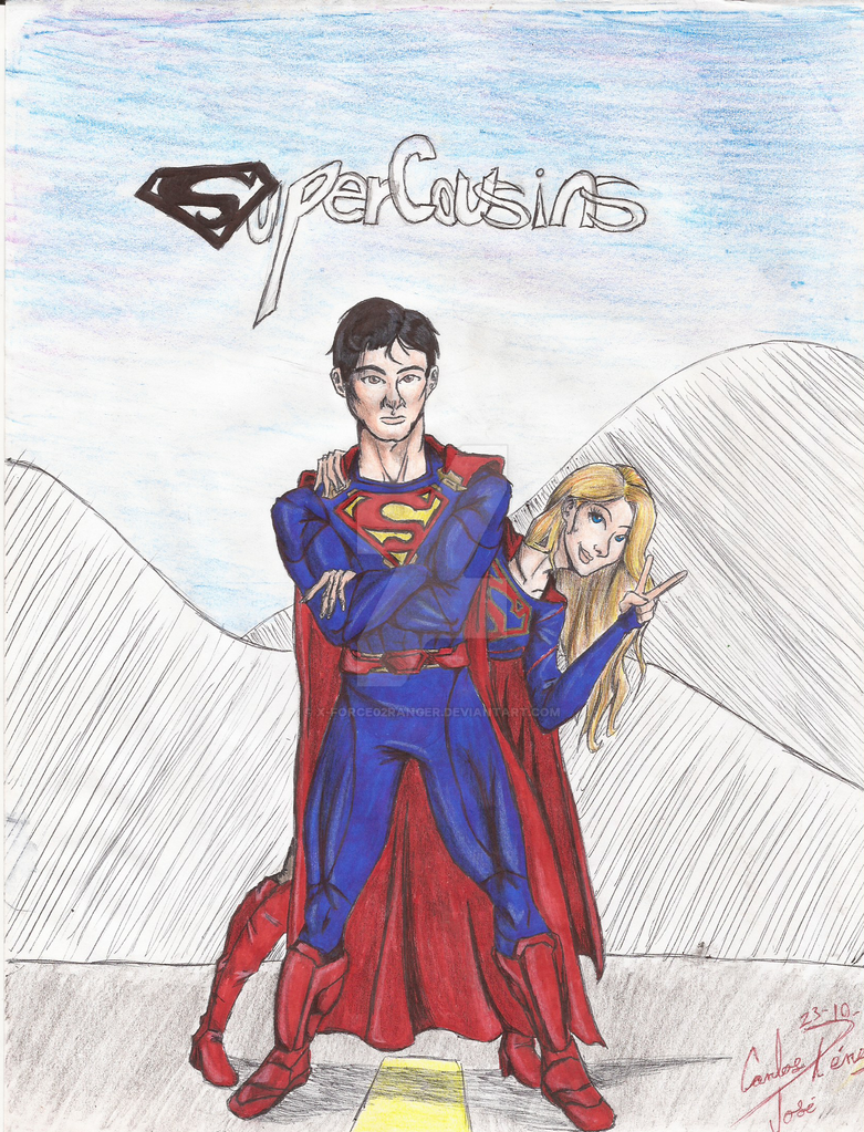 Super-cousins by X-Force02ranger