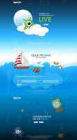 Metlife tax promo site design