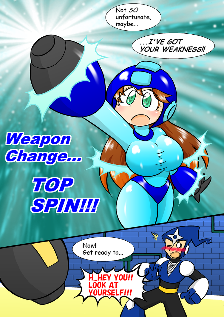 [Rockgirl Comic]Watch out when you change weapon-2 by sulfer-kokegitsune