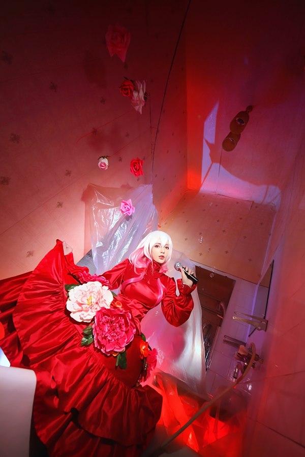 Guilty Crown sing a magic song by Misaki-Sai