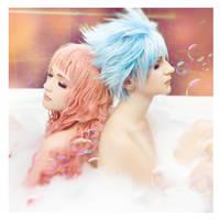 Shin and Reira by Misaki-Sai