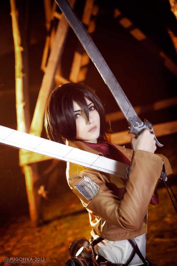 Shingeki no Kyojin : Mikasa Ackerman by Misaki-Sai