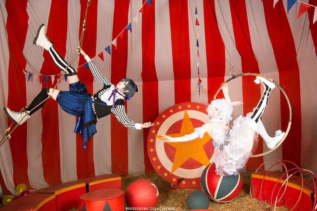 Black Butler Book of Circus by Misaki-Sai