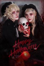 Happy Halloween 2018 by Misaki-Sai