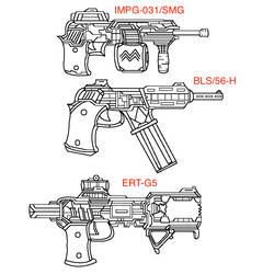 3rd Agency Smgs most used guns by S1RGUN88