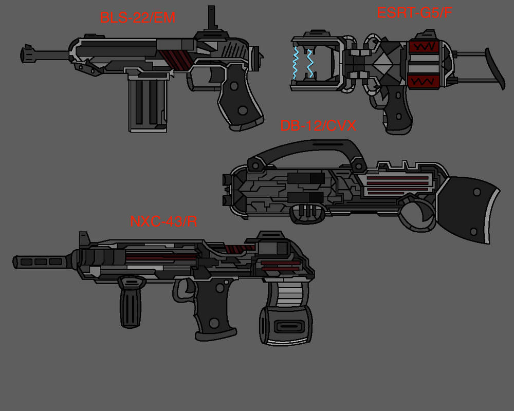 3rd Agency Shotguns by S1RGUN88