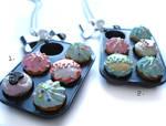 Cupcake Tray Necklaces