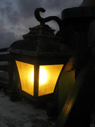 Lamp at Dusk by CountessFeantora
