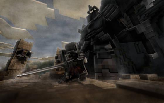 Dark Souls - Tarkus and the Iron Golem