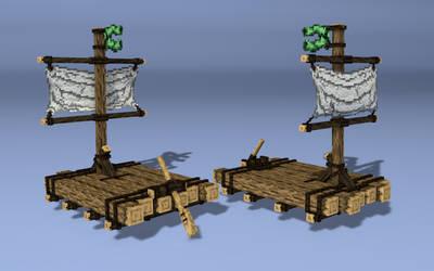 Raft - Pirate Adventures