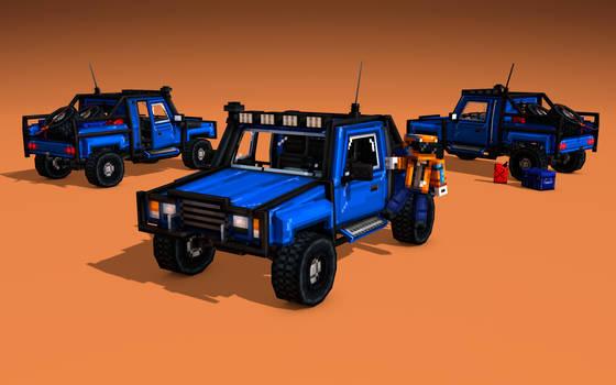 Pickup truck