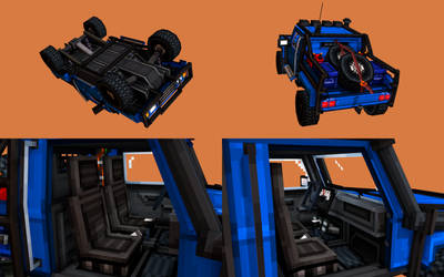 Pickup truck - Additional angles and close-ups