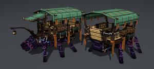 Myr - Obsidiant, passenger transportation kit