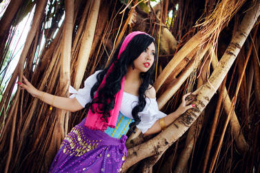 Esmeralda from The Hunchback of Notre Dame by MichoTehInRainbow