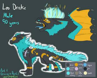 I'mma Leo Drake by SpytDragonFyre