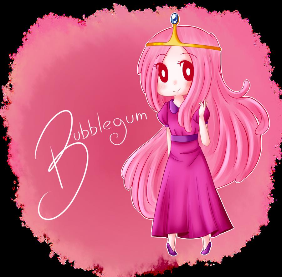 Princess Bubblegum by PkOrange