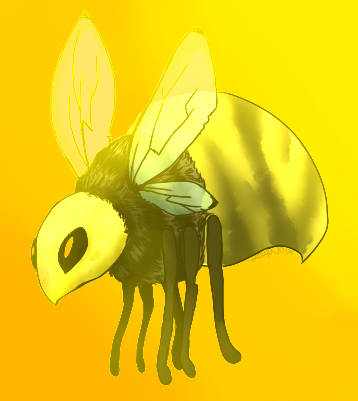 Bees Man by wolftales1