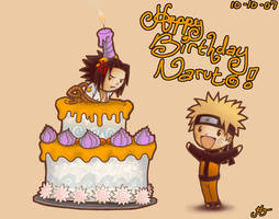 Happy Birthday Naruto by HokkaidoJH