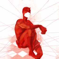Daredevil Feeling Abstract by thehungle
