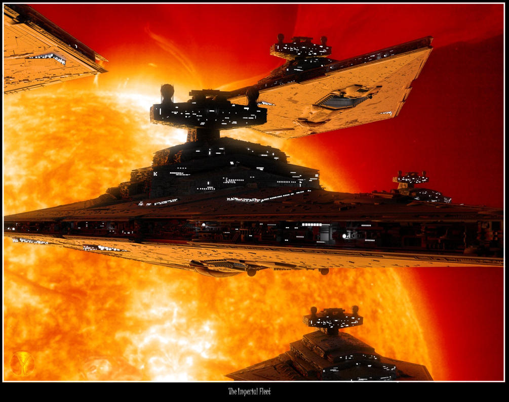The Imperial Fleet by Yunners