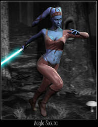Aayla Secura by Yunners