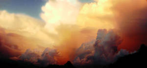 Sunset Panorama by GoblinStock