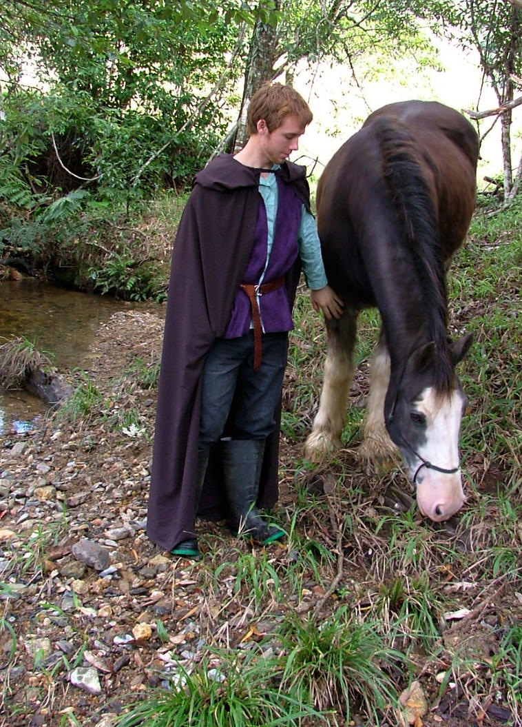 Medieval Lord_and_Horse by GoblinStock