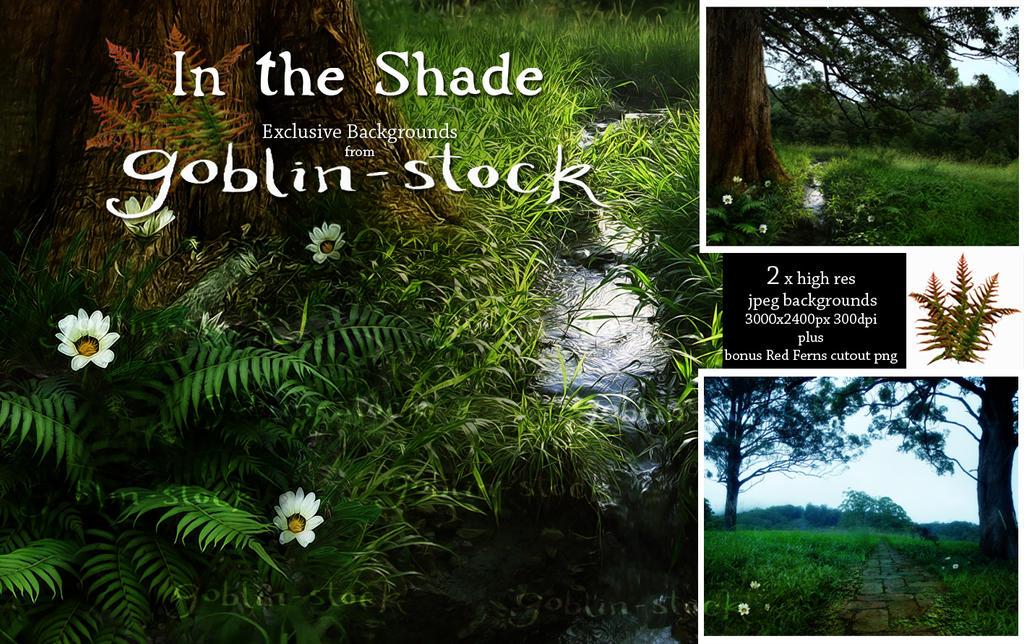 In The Shade_Fantasy BG Pack by GoblinStock