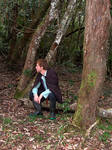 Sitting in the forest 4