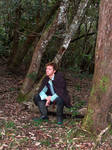 Sitting in the forest 6