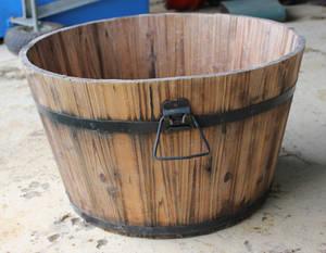 Half Barrel 01 by GoblinStock