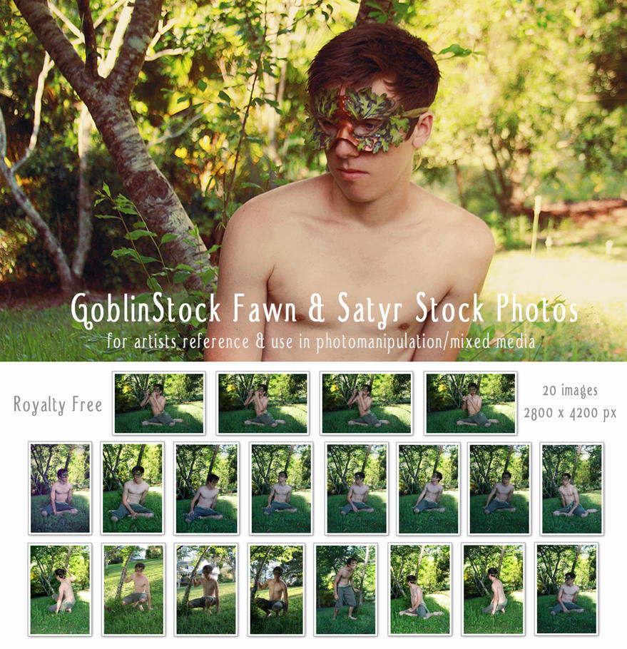 Fawn and Satyr Male Stock by GoblinStock