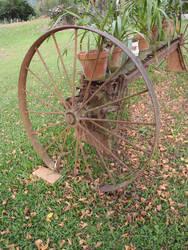 Rusty Wheel 01 by GoblinStock