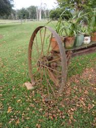 Rusty Wheel 02 by GoblinStock