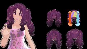 MMD Hair dl! by Boneria