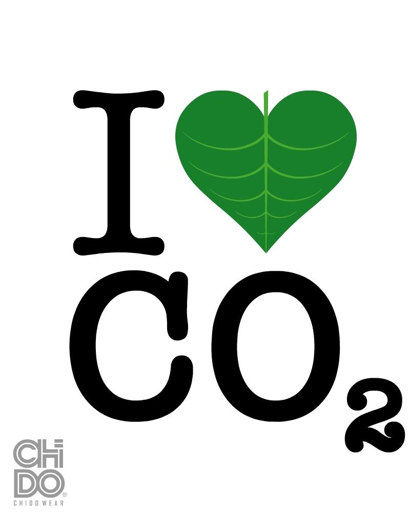 I HEART CO2 by ChidoWear