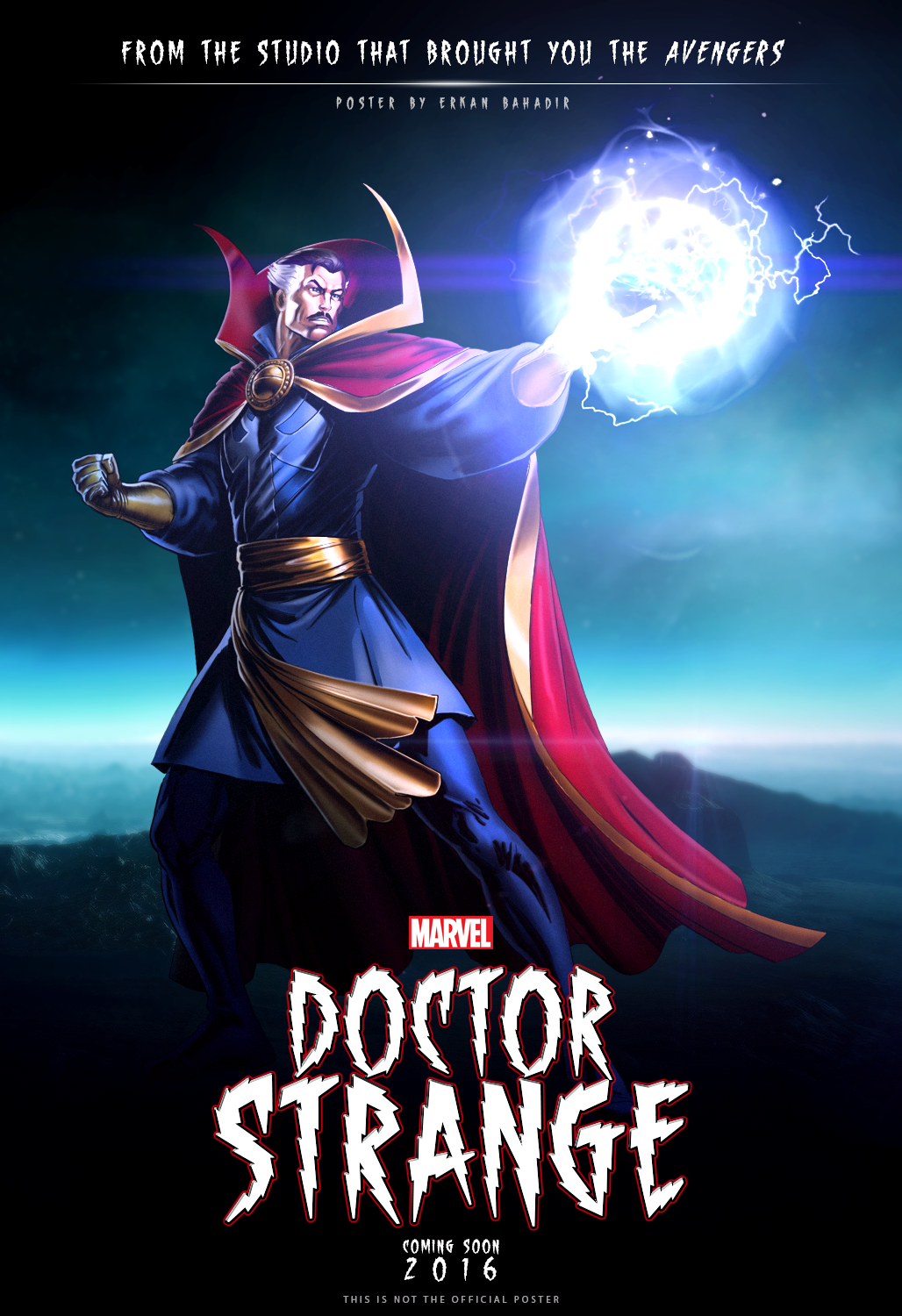 DOCTOR STRANGE 2016 MOVIE FANMADE POSTER by erkanbahadir23 on