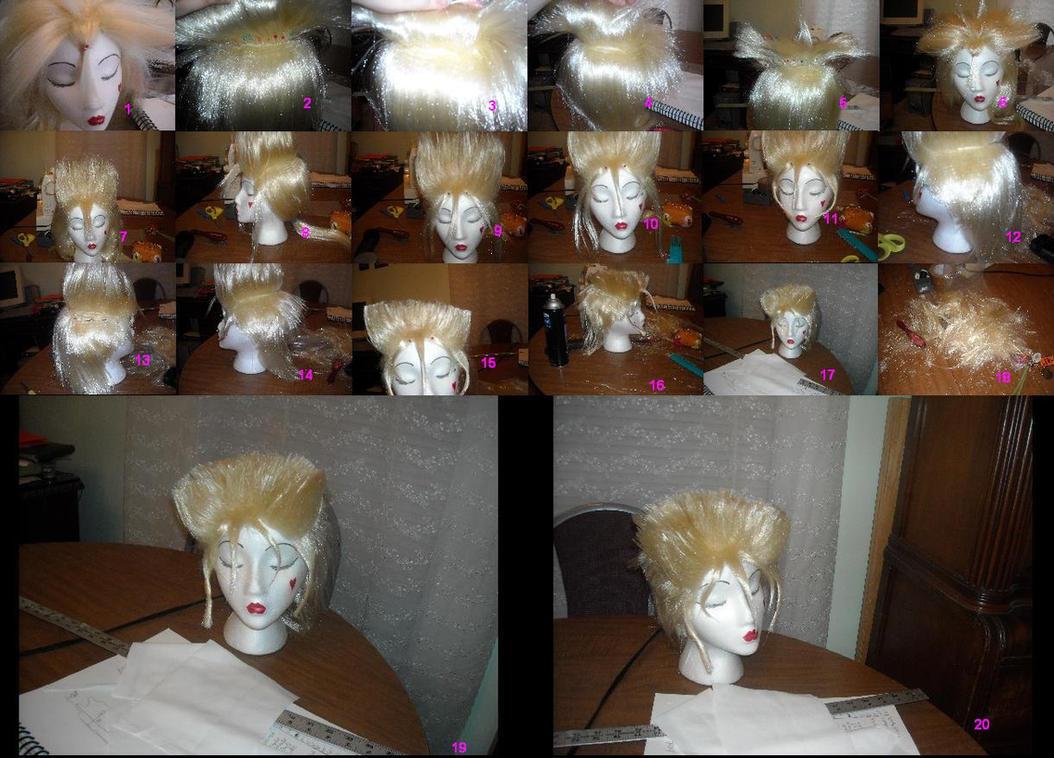 Demyx Wig Process by SillySisshiSunshine