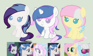 mlp adoptables CLOSED SORRY