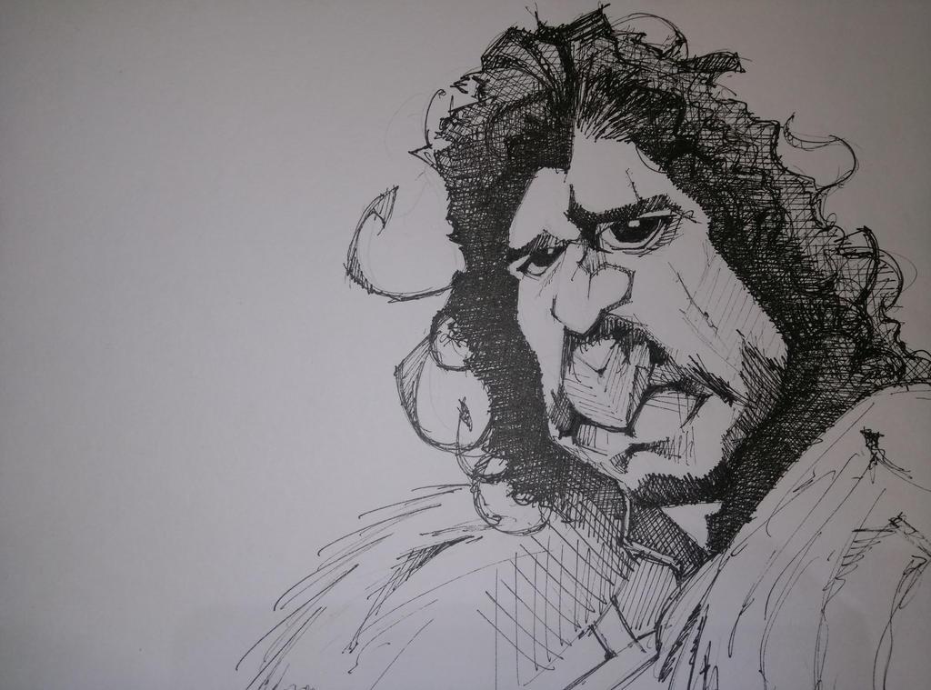 Jon Snow sketch by byztro