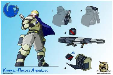 Atreides Kindjal Infantry concept 1