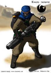 Atreides Kindjal Infantry concept 2