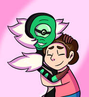Steven and Nephrite by Nickental