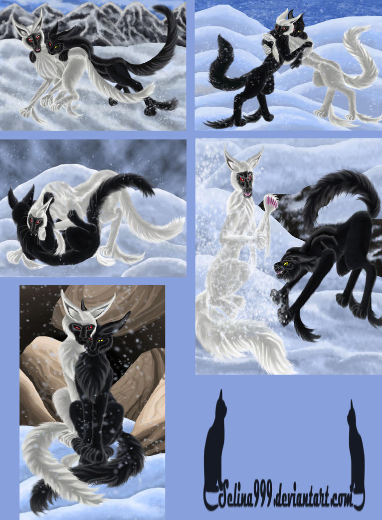 Snow play by Selina99999