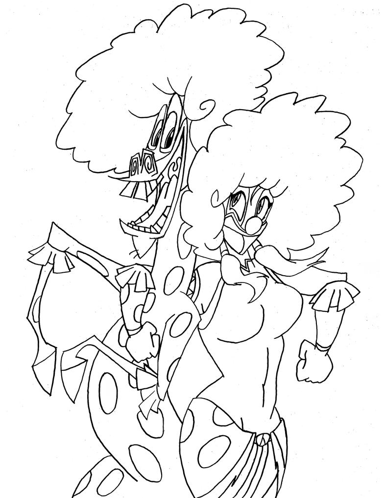 madagascar 3 circus coloring pages | Korra and Marty's Afro Circus by RaccoonFoot on DeviantArt