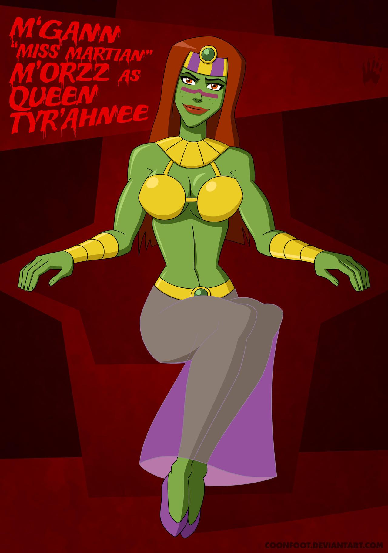 Halloween Jam '12: Miss Martian by Coonfoot