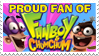 Stamp: Proud Fanboy Fan by RaccoonFoot