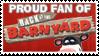 Stamp: Proud Barnyard Fan by RaccoonFoot