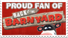 Stamp: Proud Barnyard Fan by RaccoonFoot