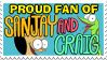 Stamp: Proud Sanjay and Craig Fan by RaccoonFoot